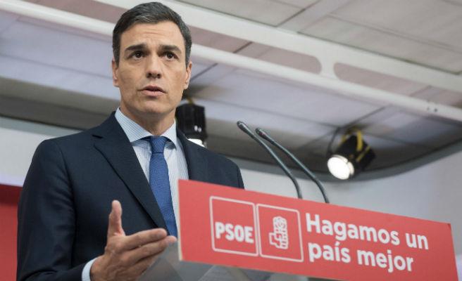 """Sánchez promete """"estabilidad y elecciones"""" si gana la moción de censura y """"cerrar la etapa negra"""" de PP"""