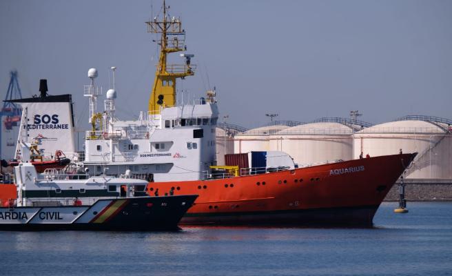 La mitad de los refugiados del 'Aquarius' que han llegado a Valencia quieren ir a Francia