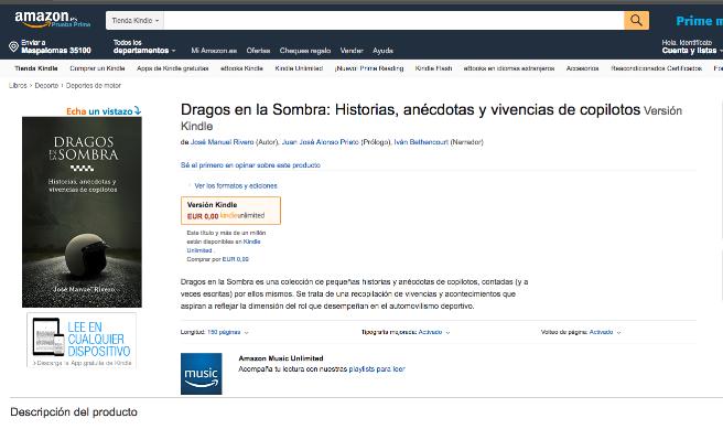 """""""Dragos en la Sombra"""" ya está disponible en Amazon"""