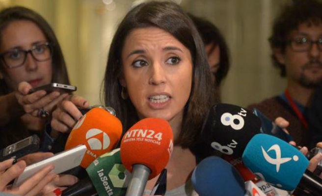 """Irene Montero insta a Sánchez a """"rectificar"""" por decir que Iglesias no defiende la democracia española"""