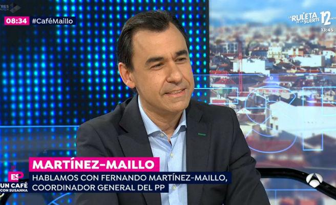 """Maíllo carga contra """"el problema de fiabilidad"""" de Sánchez y promete un PP """"muy reforzado"""""""