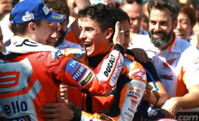 Jorge Lorenzo ficha por Repsol Honda y será compañero de Marc Márquez