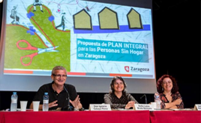 Redacción del plan integral para las personas sin hogar en zaragoza