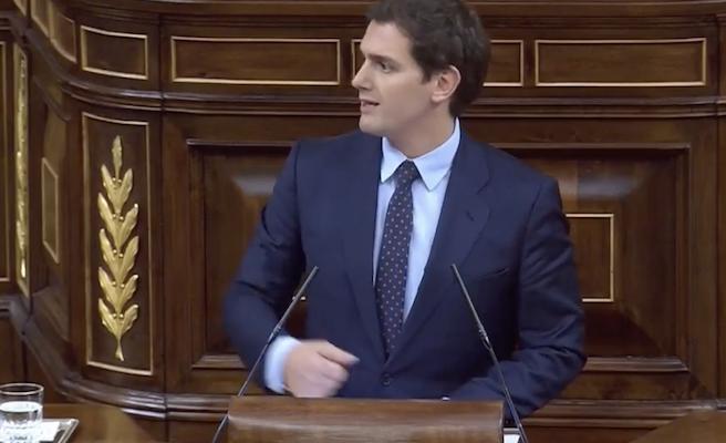 """Rivera estará atento a """"concesiones e hipotecas"""" de Sánchez con los independentistas"""