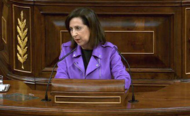 Robles explicará mañana en el Congreso sus planes en el Ministerio de Defensa