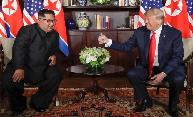 Así ha sido el histórico encuentro entre Kim Jong-un y Donald Trump en Singapur