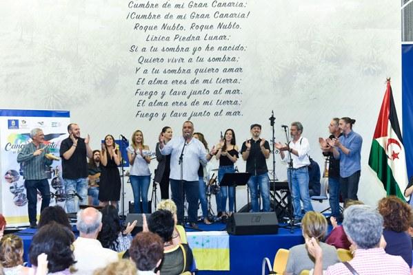 Luis Morera y Rogelio Botanzjunto a once artistas reclaman libertad para el Pueblo Saharaui a través de sus canciones