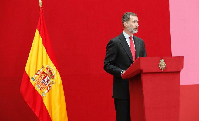 Víctimas invitan al Rey Felipe VI a un homenaje por el 17-A tras vetarle Torra en los actos oficiales