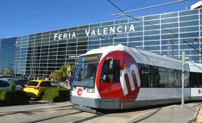 Metrovalencia ofrece servicio de tranvía a Feria Valencia con motivo de DreamHack