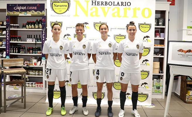 El Valencia CF presenta el décimo año del equipo femenino lleno de novedades