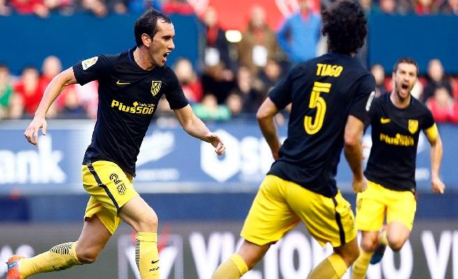 El Atlético de Madrid todavía no le ha ofrecido la renovación a Godín