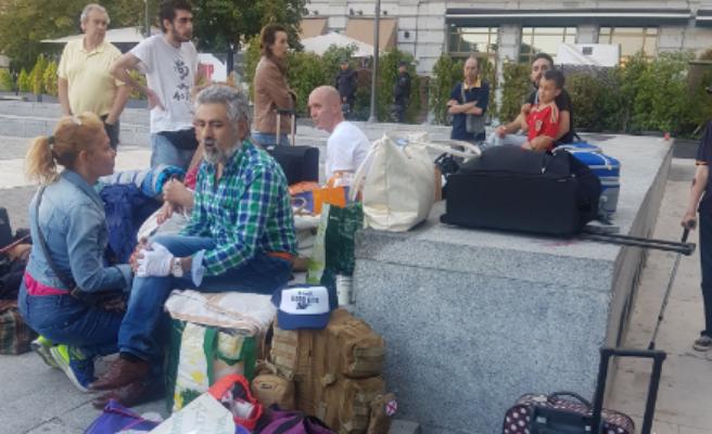 La Policía desaloja el Banco Madrid, ocupado por Hogar Social Madrid desde hace más de un año