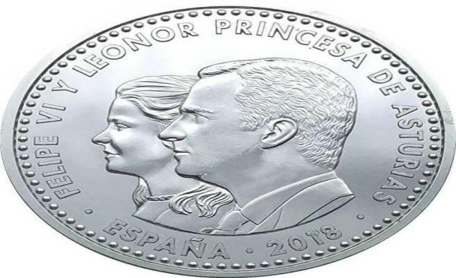 La Princesa Leonor aparece irreconocible en su primera moneda