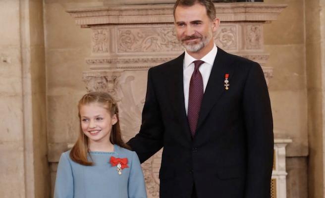La princesa Leonor asistirá a su primer acto oficial