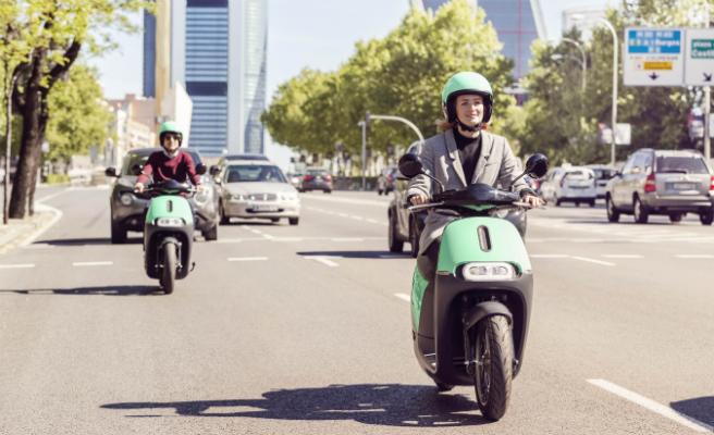El servicio de scooters eléctricas compartidas, comienza a operar en Madrid de la mano de COUP
