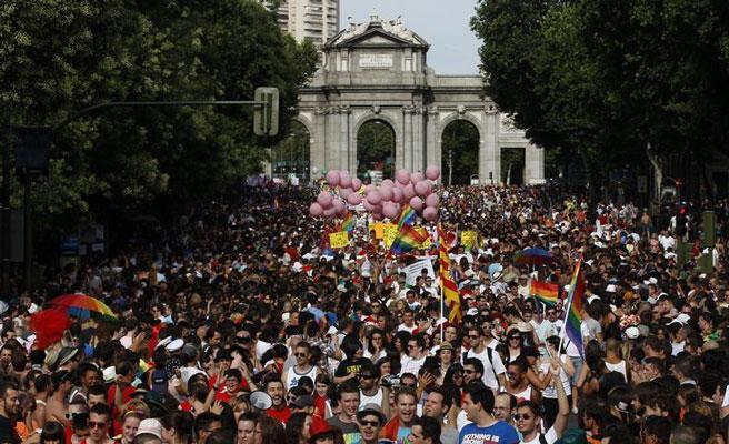 Denunciados 35 incidentes de odio durante el Orgullo 2018 en  Madrid