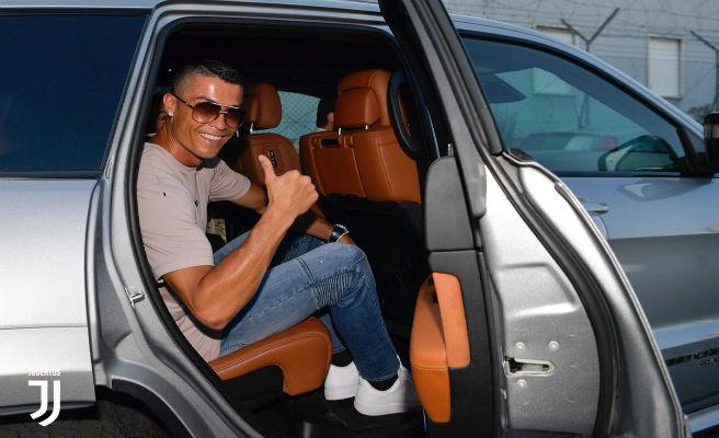 Cristiano será presentado hoy con la Juventus