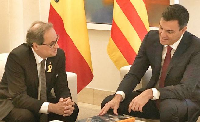 """Moncloa destaca el papel """"constructivo"""" de Torra y su disposición al diálogo"""