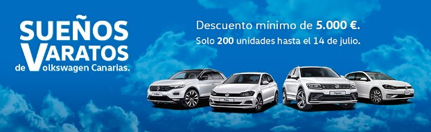 """¡Vuelven los """"Sueños Varatos"""" de Volkswagen con un descuento mínimo de 5.000€!"""