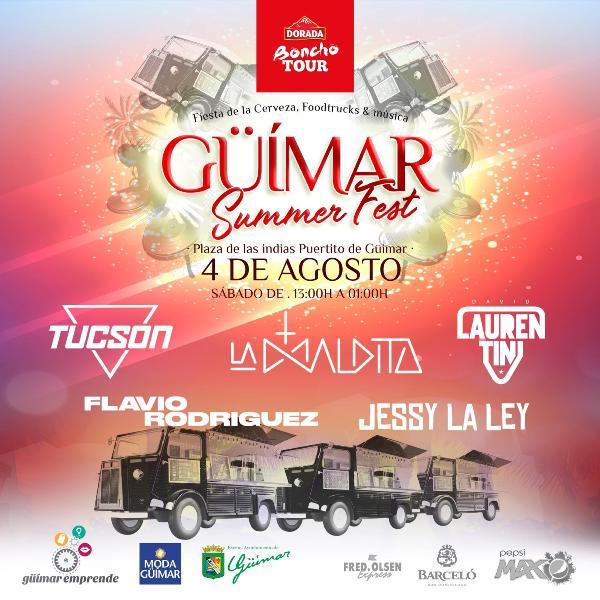 Boncho Tour llega a El Puertito este sábado, 4 de agosto, de la mano de Güímar Emprende