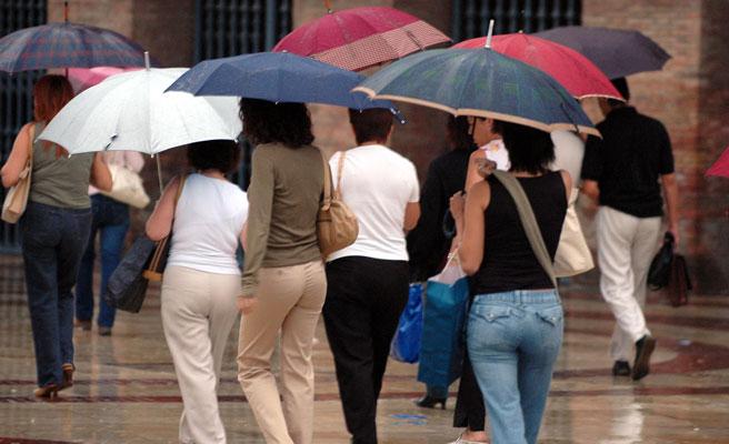 11 provincias en alerta amarilla por tormentas, lluvias y altas temperaturas