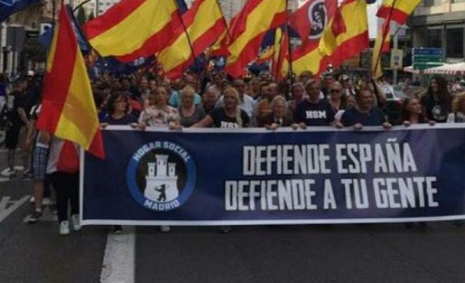 Desalojado el colectivo neonazi Hogar Social Madrid a menos de un mes de su última 'okupación'