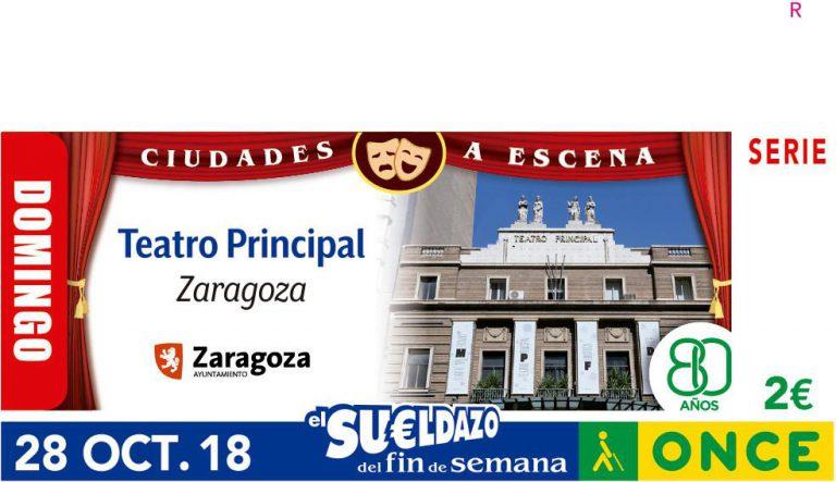 El cupón de la ONCE 'sube' el telón del Teatro Principal de Zaragoza