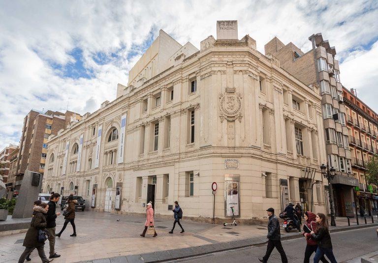 El Ayuntamiento invierte 48.000 euros en reparar la fachada trasera del Teatro Principal de Zaragoza
