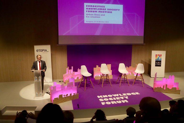 El foro de Eurocities sobre la Sociedad del Conocimiento, celebrado en Zaragoza, presenta una propuesta de decálogo sobre el uso ético de los datos ciudadanos