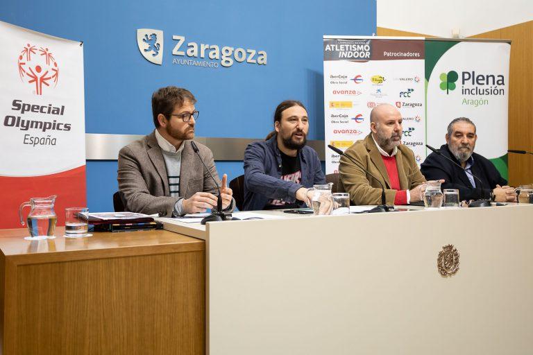 Zaragoza acoge el Campeonato Nacional de Atletismo Indoor para personas con discapacidad intelectual