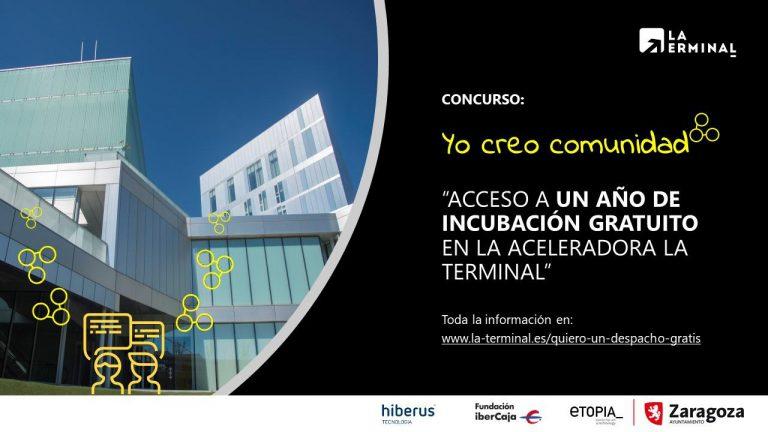 La Terminal, aceleradora empresarial del Ayuntamiento de Zaragoza en Etopia, sortea un despacho gratis durante un año