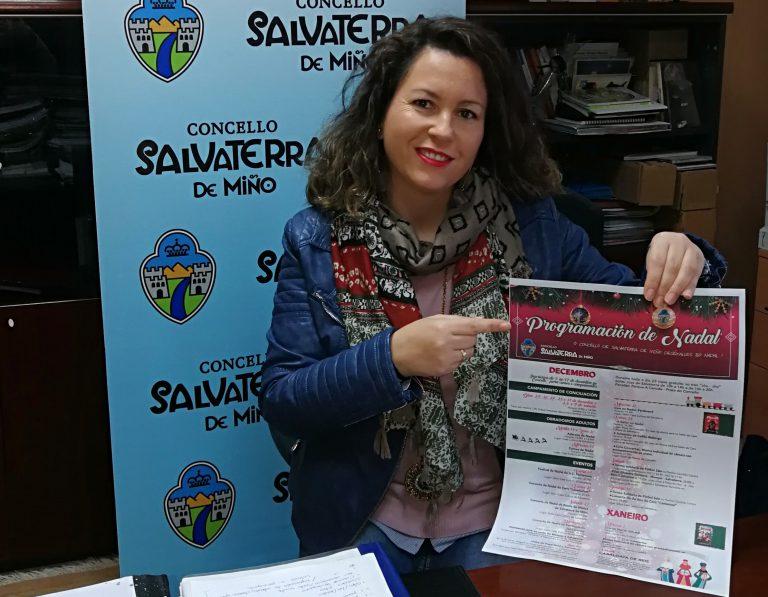 Salvaterra de Miño comienza con los preparativos navideños con la presentación del Campamento de Conciliación familiar y la Campaña Solidaria