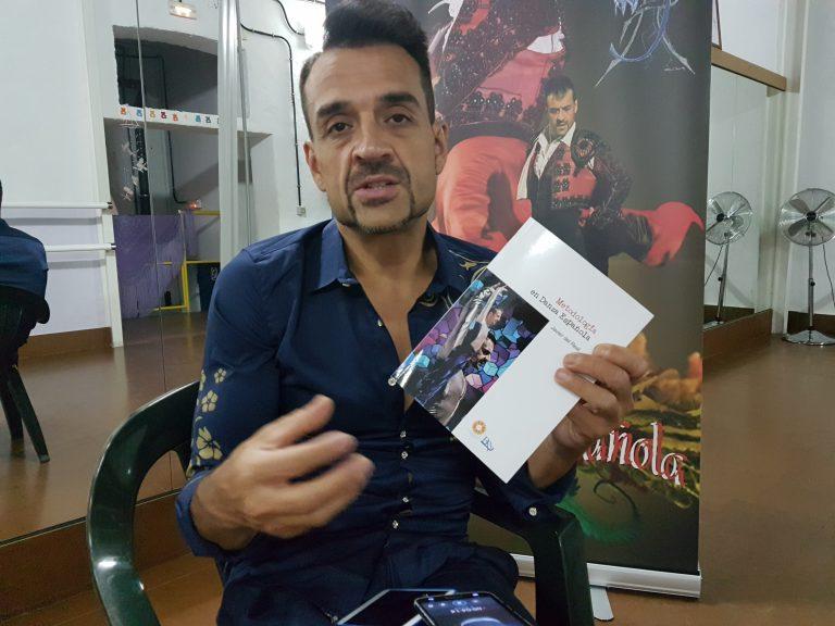 """Metodología de la Danza Española"""", título del libro de Javier del Real"""