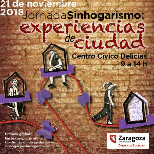 Jornada en Zaragoza sobre experiencias innovadoras de intervención en Sinhogarismo