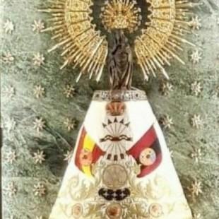 Colocan una bandera de la Falange en La Virgen del Pilar