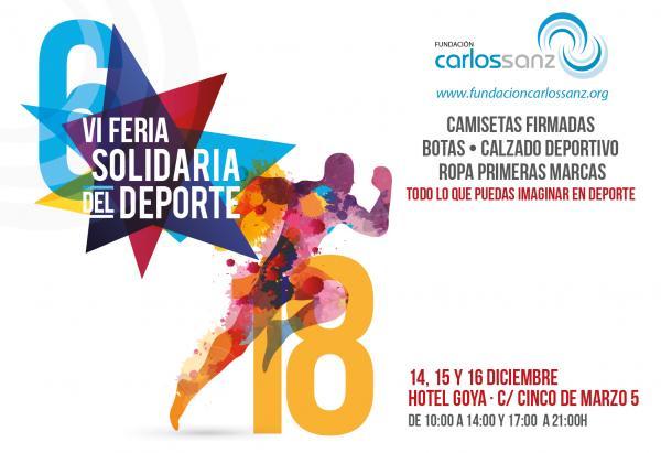 VI Feria Solidaria del Deporte Fundación Carlos Sanz