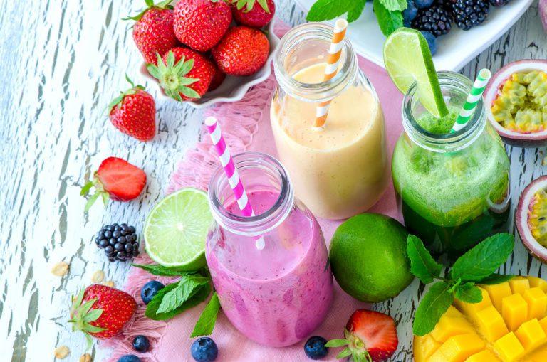 Cinco tips para preparar batidos saludables