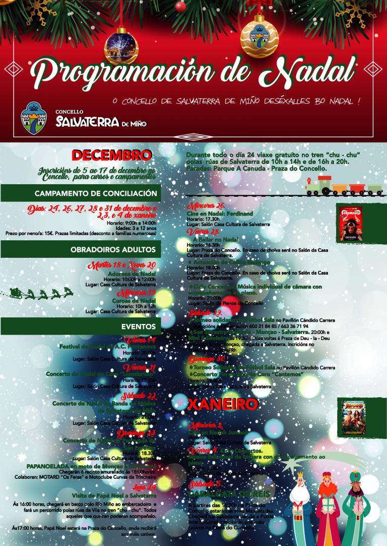 ¡Ven a disfrutar Salvaterra en Navidad!