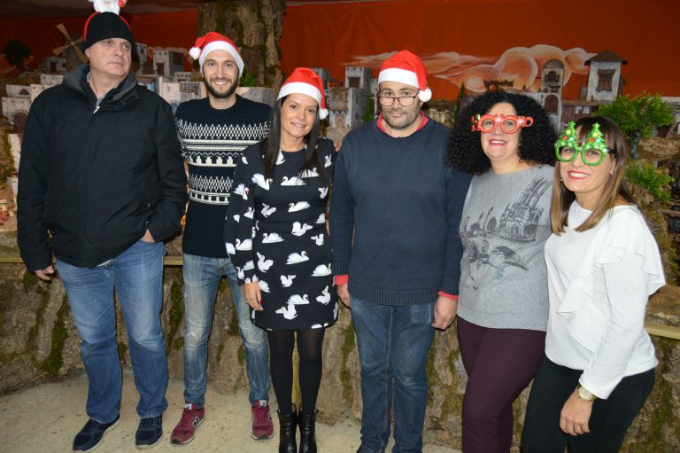 Comienza la Navidad en Mos con el acto de encendido del alumbrado navideño