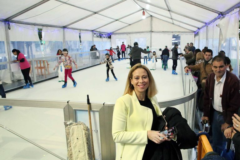 Inauguración de pista de patinaje ecológico el jueves día 6 en la Plaza Mayor