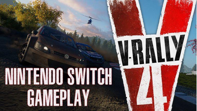 Este juego de Rallys acaba de llegar a Nintendo Switch