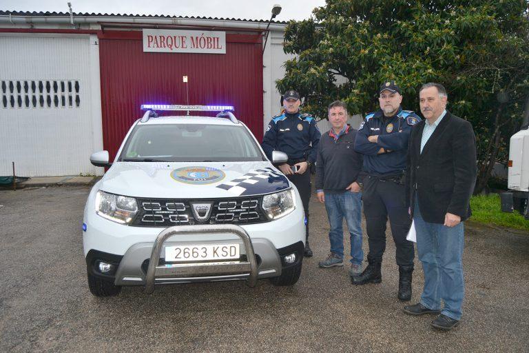 La Policía Local de Tui cuenta con un nuevo vehículo 4×4