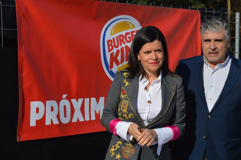 El nuevo Burger King de Mos pone su primera piedra como uno de los más modernos de España