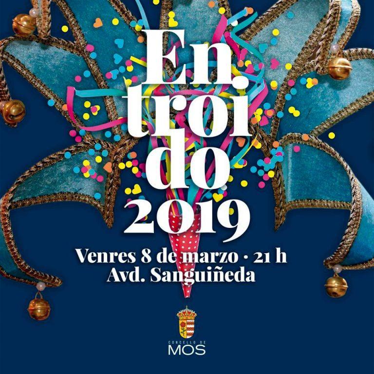 Desfile de comparsas de Carnaval en Sanguiñeda