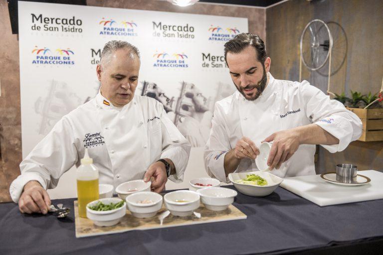 Mario Sandoval inicia los actos del 50º aniversario del Parque de Atracciones, reinventando la cocina tradicional madrileña