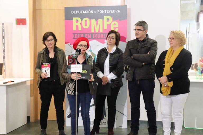 Inauguración en A Guarda de la Exposición «Rompe. Juega en Igualdad»
