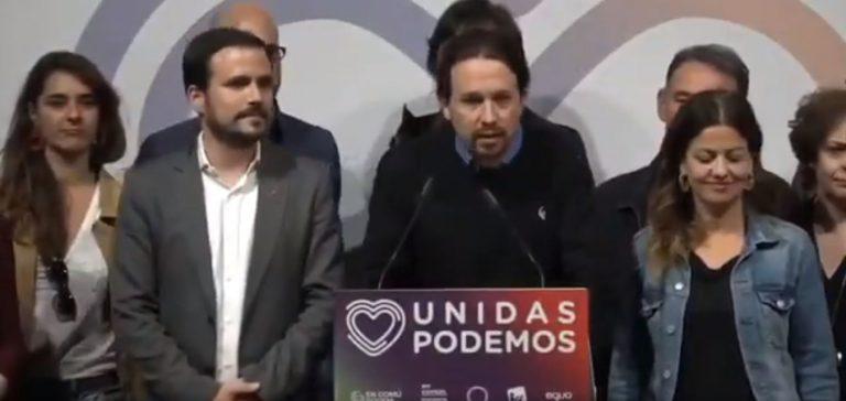 """Dirigentes de Unidas Podemos alaban el gesto de Iglesias y retan al PSOE a estar """"a la altura"""""""