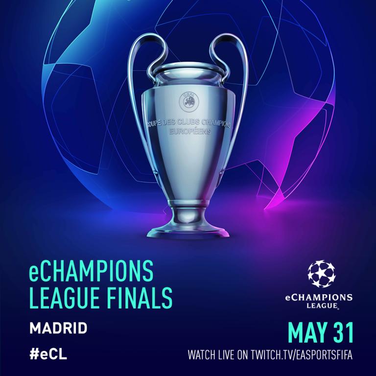Madrid acogerá la final de la eChampions League el 31 de mayo