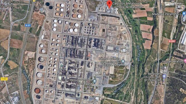 Alerta química: un trabajador muere y otro se encuentra crítico por una fuga de amoniaco en Tarragona