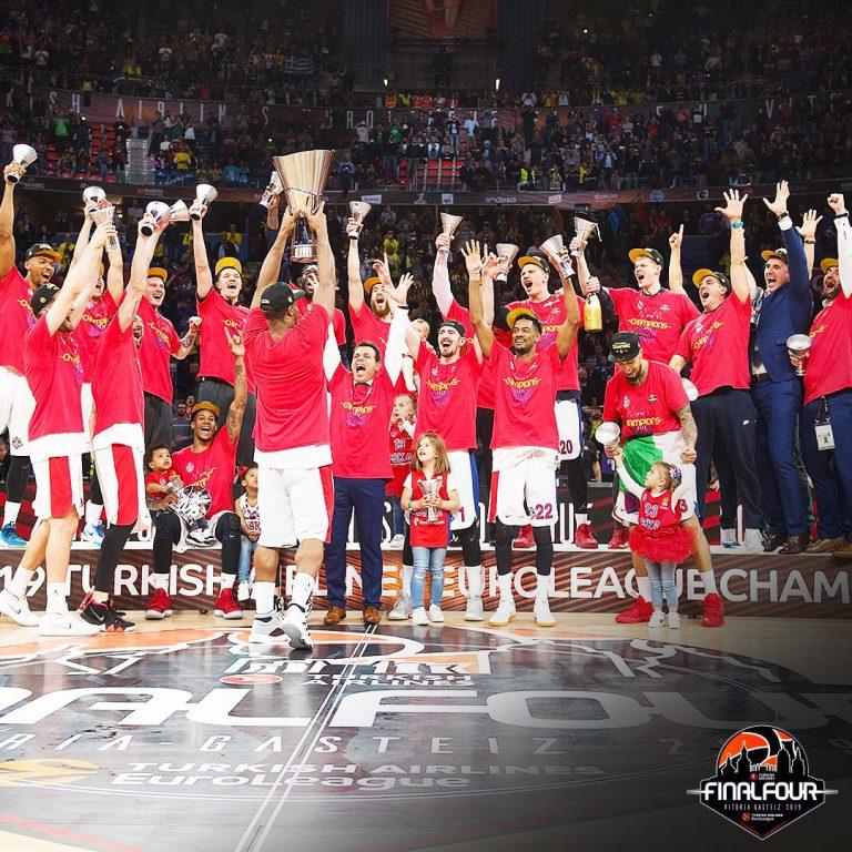 El CSKA conquista la Euroliga en Vitoria
